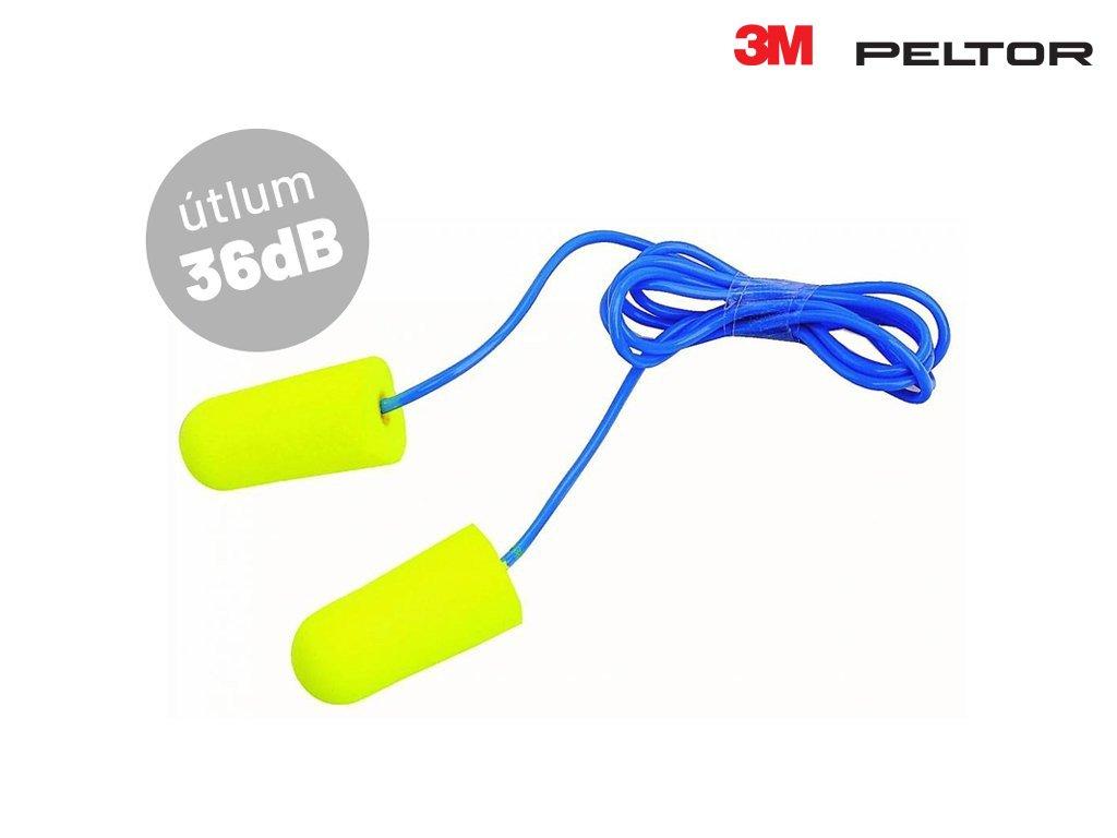 Zátky do uší 3M PELTOR EAR Soft s provázkem