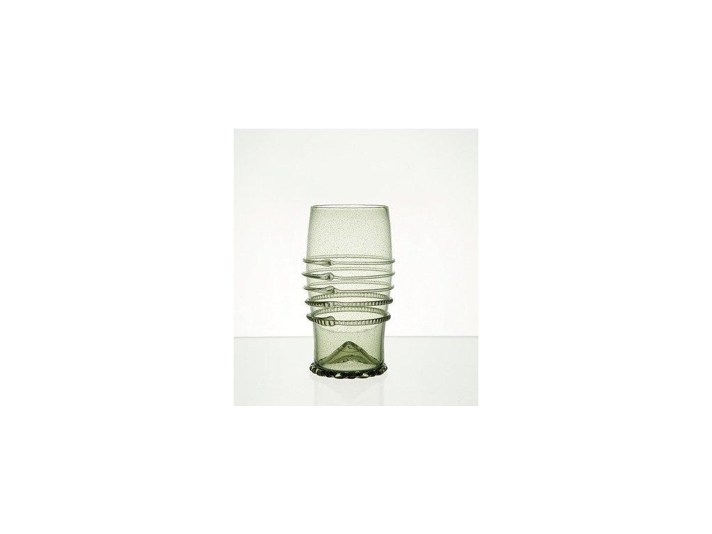 Zdobená široká váza Rudolf 4 dcl
