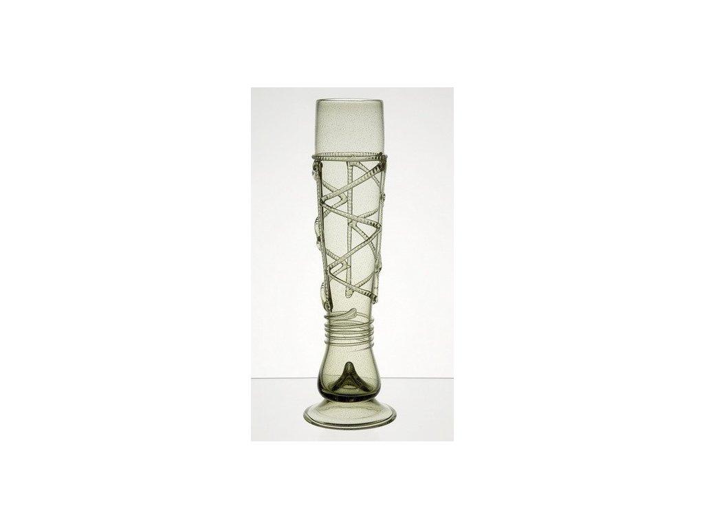 Široká váza Píšťala 5 dcl