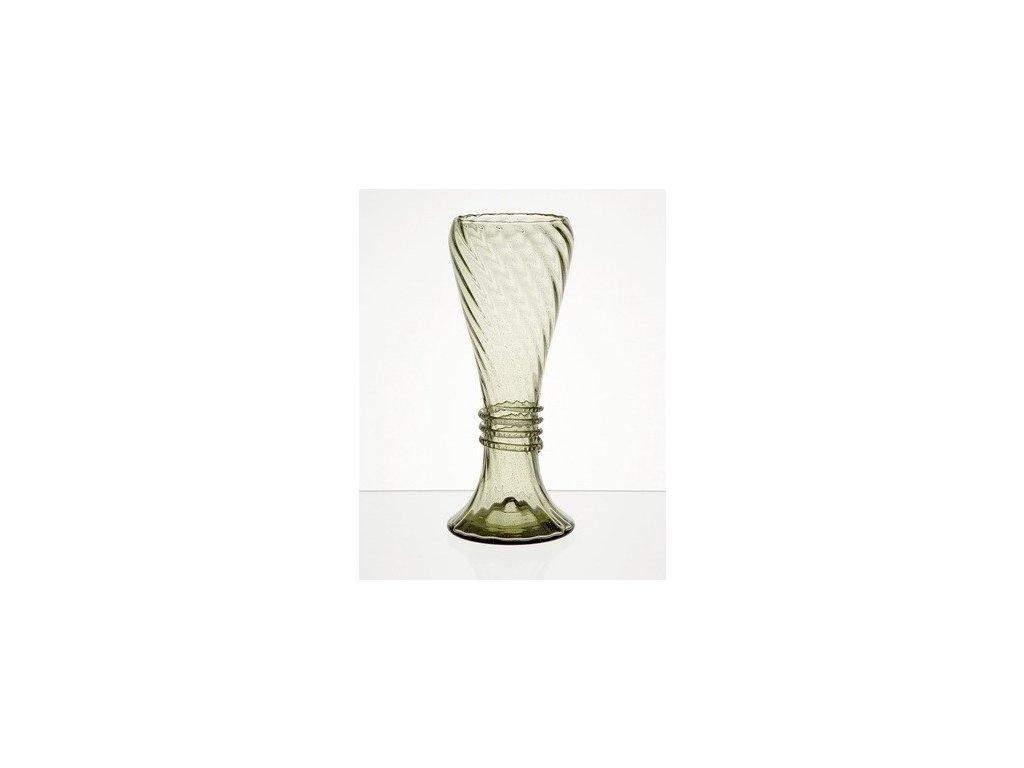 Široká váza Karel VI 4 dcl