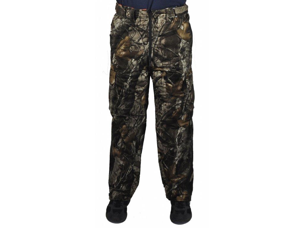 Kalhoty Tecl-wood 3D kamufláž