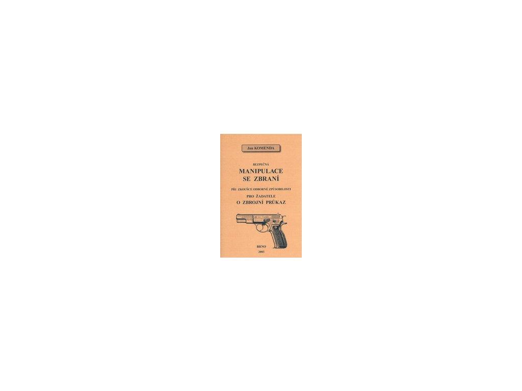 Kniha Bezpečná manipulace se zbraní