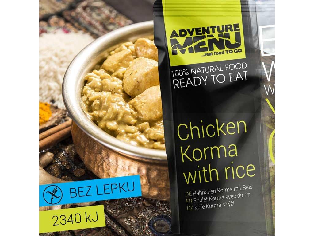 Adventure Menu Kůře Korma s rýží