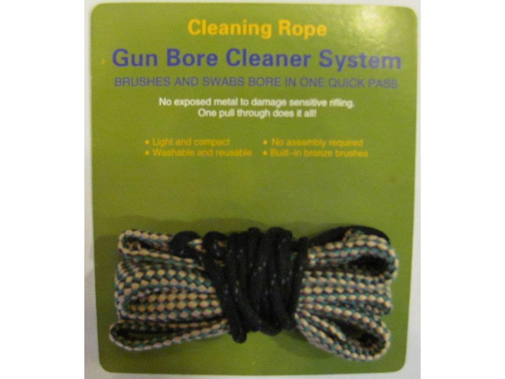 Čistící šňůra na zbraň ráže 7mm - Cleaning Rope Bore Snake