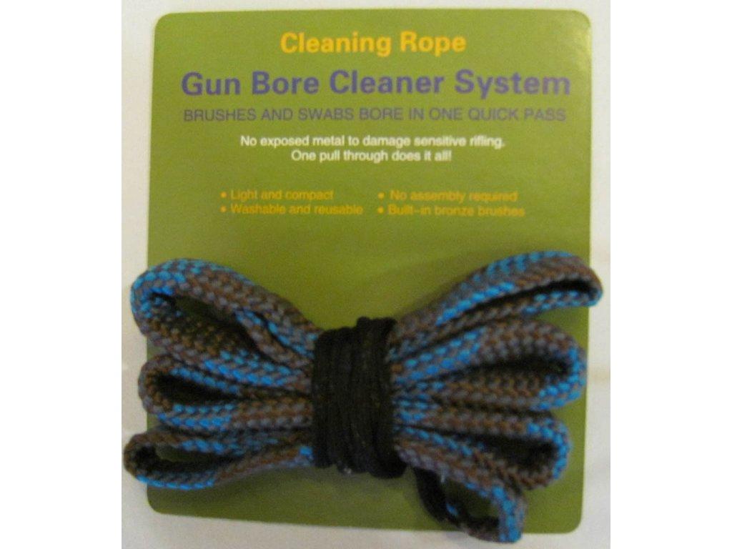 Čistící šňůra na zbraň ráže 8 mm - Cleaning Rope Bore Snake