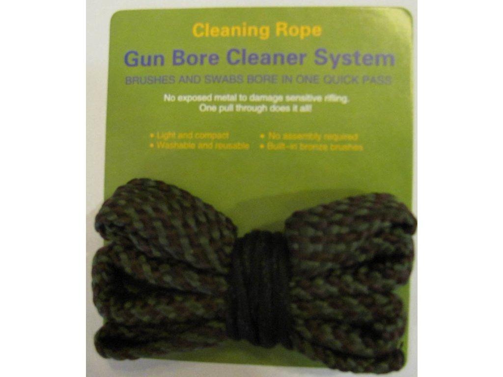 Čistící šňůra na zbraň ráže 9mm - Cleaning Rope Bore Snake