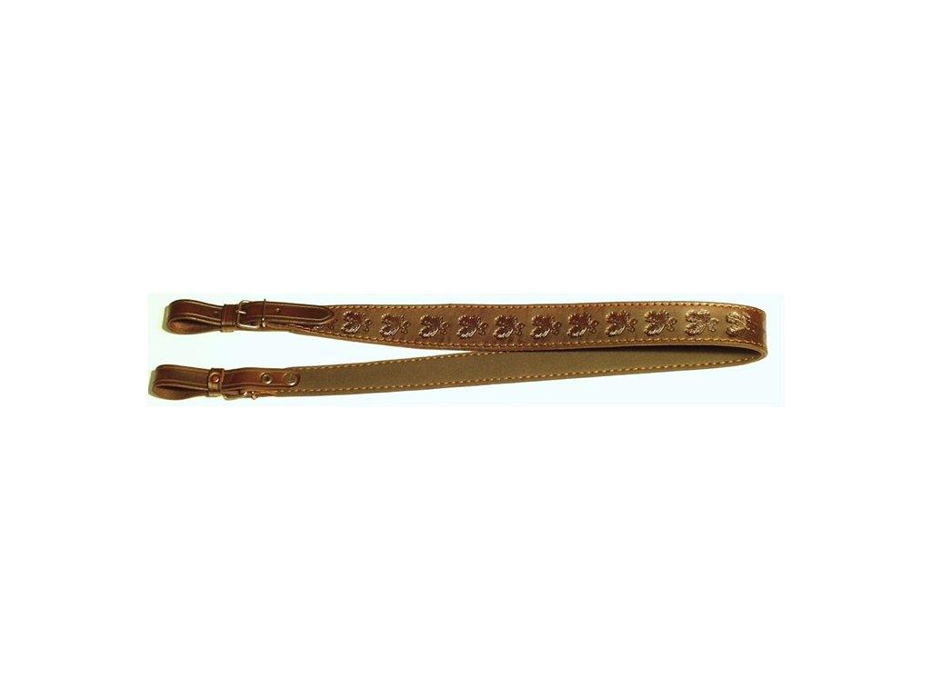 Řemen na zbraň podšitý protiskluzovou gumou - 4 cm