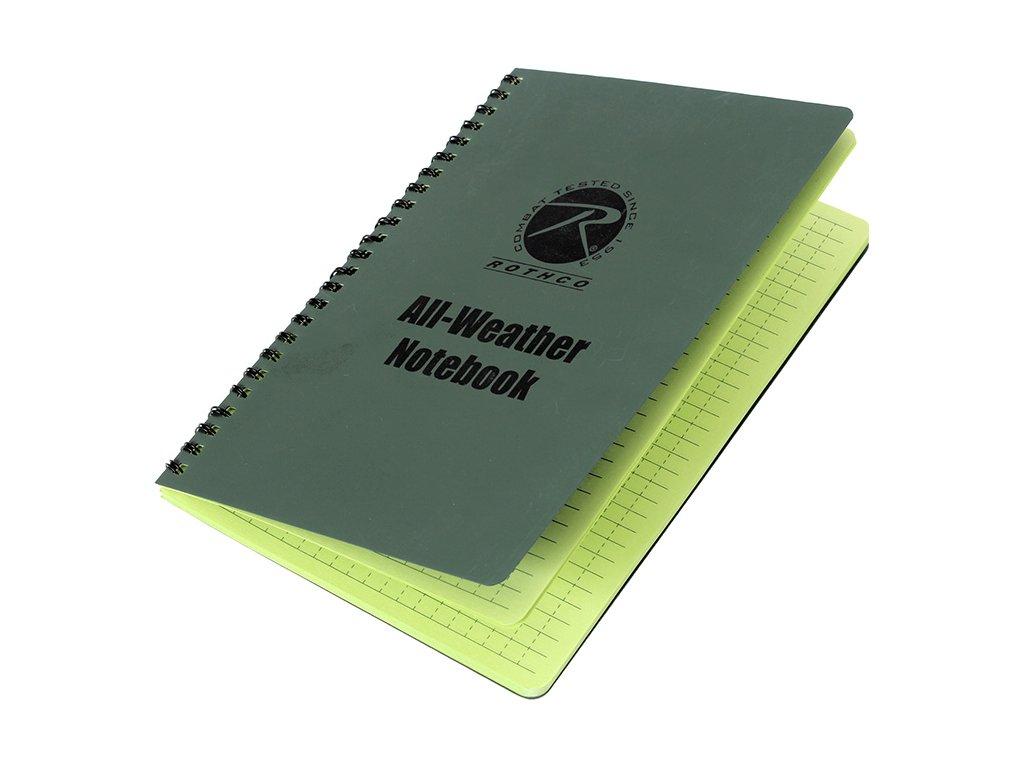 Blok/zápisník velký A5 voděodolný