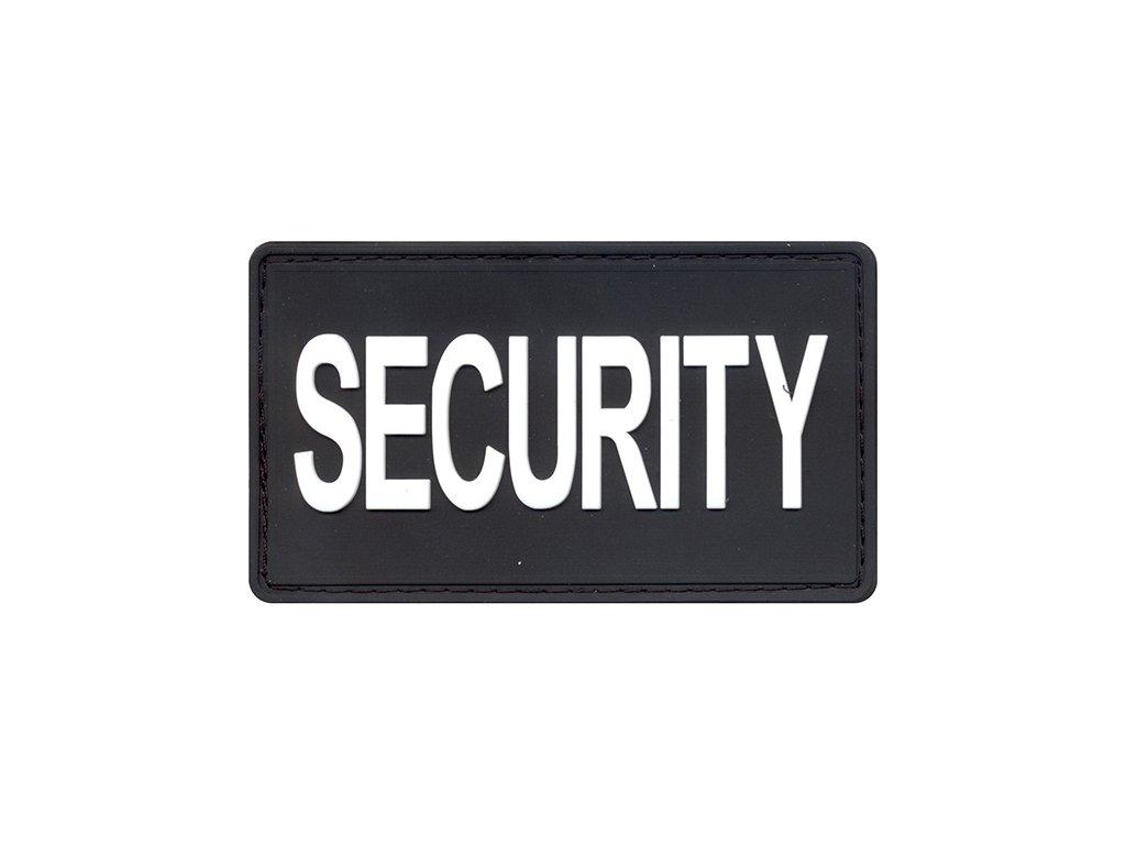 Nášivka SECURITY velcro plast