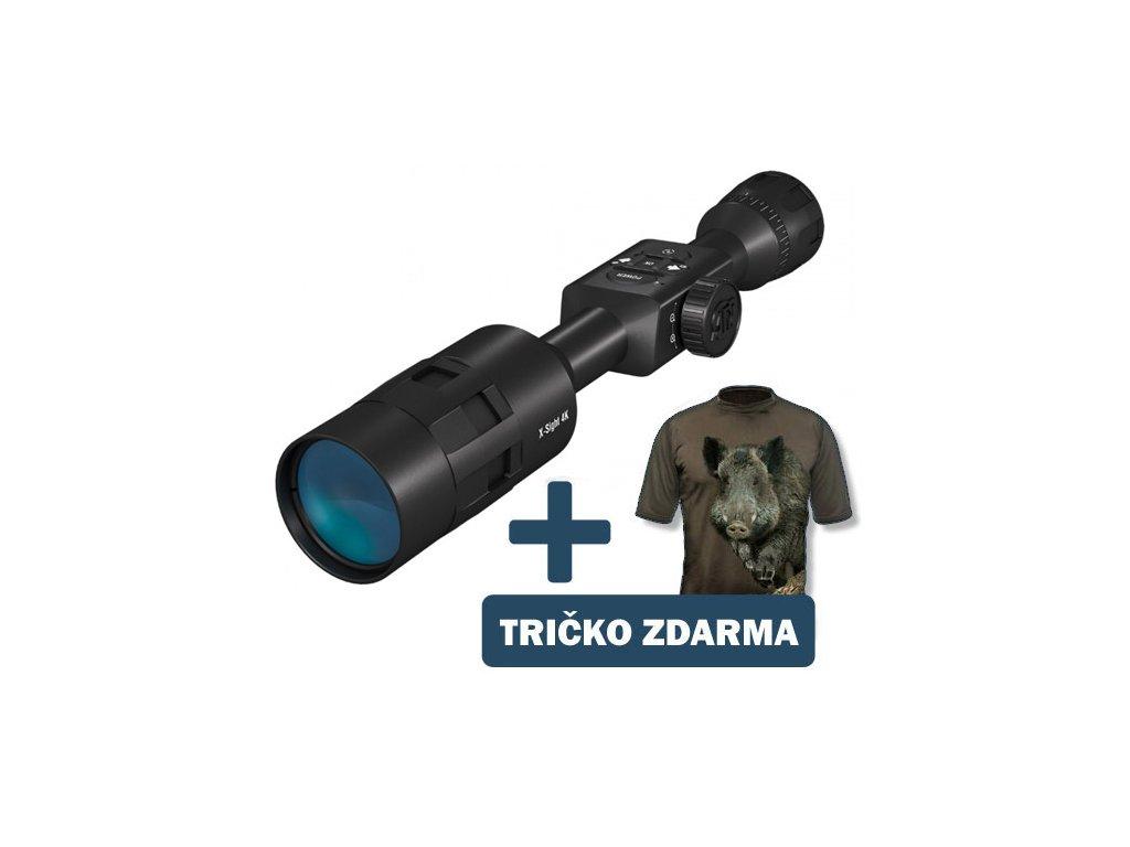 ATN X-Sight 4K Pro 5-20x - denní/noční puškohled  + dárek + myslivecké tričko v hodnotě 999Kč + 30 dní na vrácení