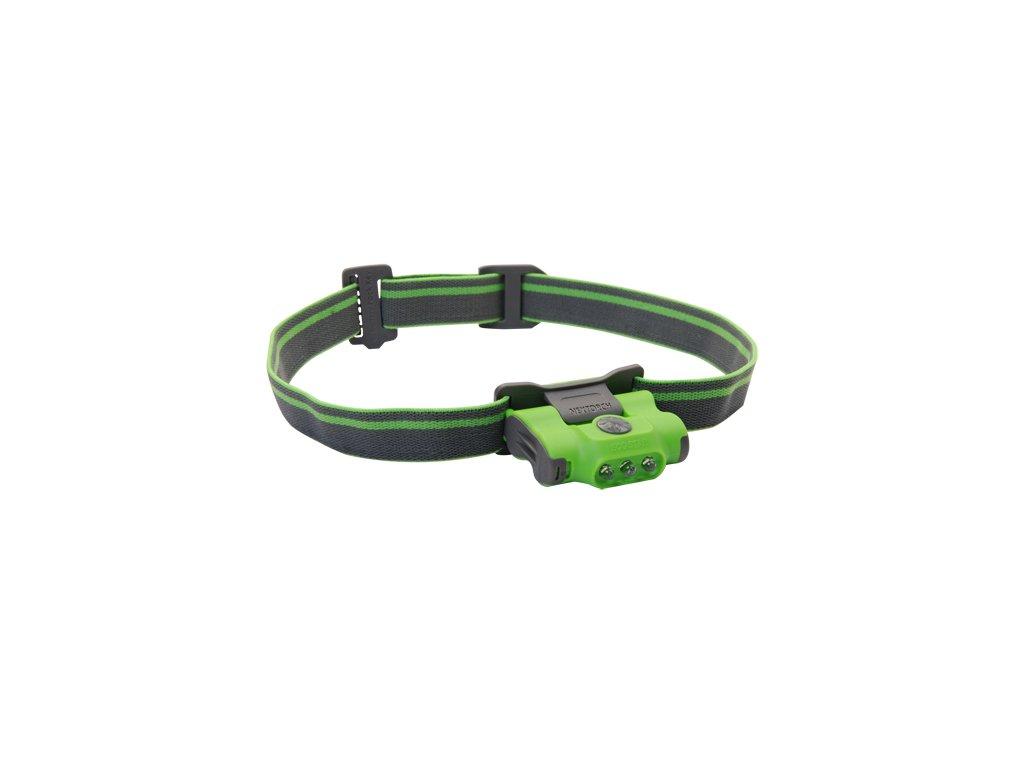 Čelová svítilna NexTORCH ECO STAR - zelená