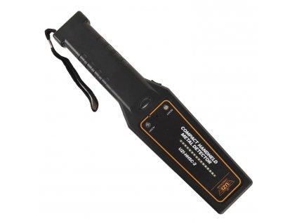Detektor kovů HHSC-2 ruční ČERNÝ