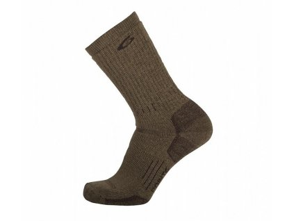 Merino Ponožky Point6 37.5 Tactical Defender Coyote Brown (Velikost L (42-45))