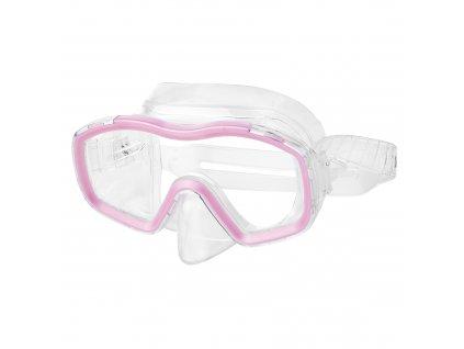 Spokey BOMBI GIRL Juniorská sada na šnorchlování maska+šnorchl