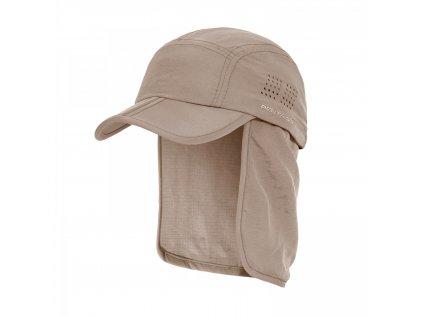 Čepice s chráničem krku KALAHARI KHAKI