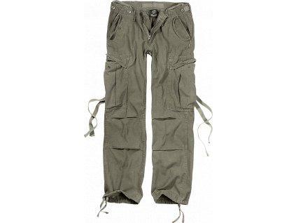 M65 dámské kalhoty Brandit olivové