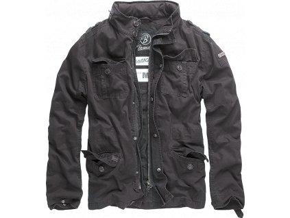 Bunda Brandit Britannia Jacket černá
