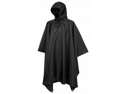 Ripstop Poncho Brandit černé