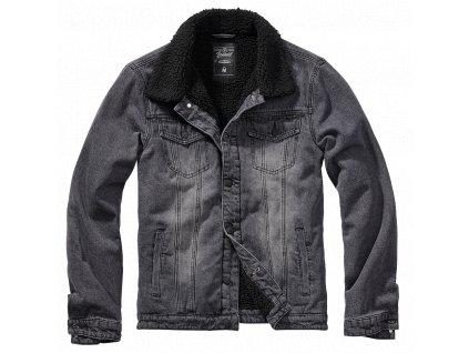 Sherpa Denim bunda Brandit černá/černá