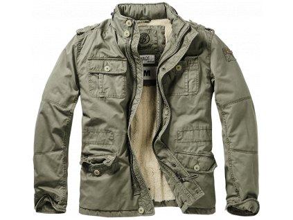 Bunda zimní Brandit Britannia Winter Jacket olivová