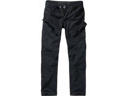 Adven slim fit kalhoty Brandit černé