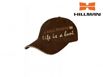 Hillman kšiltovka Life is a hunt hnědá