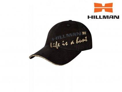 Hillman kšiltovka Life is a hunt černá