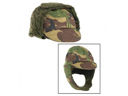 Čepice zimní HOLANDSKÁ s kšiltem DPM použitá