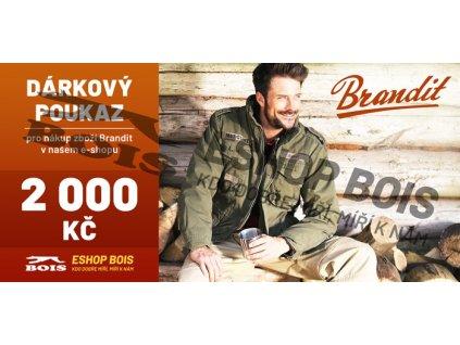 Poukaz brandit 2000