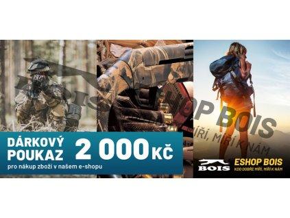 Poukaz eshop 2000