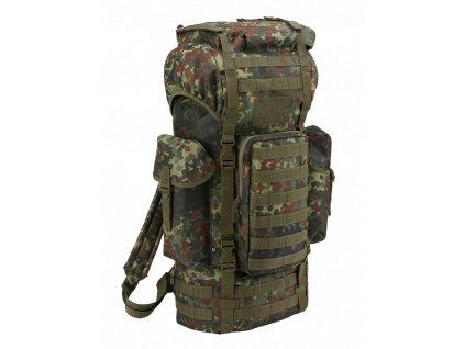 Kampfrucksack Molle taktický batoh Brandit flecktarn