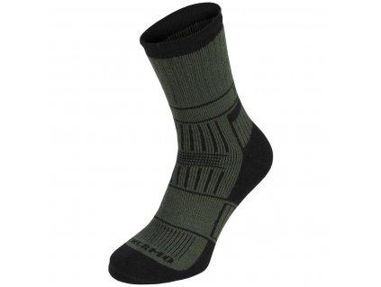 Ponožky ALASKA termo ZELENÉ