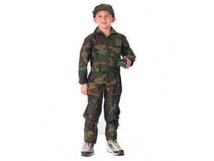 Kombinéza dětská US AIR FORCE WOODLAND