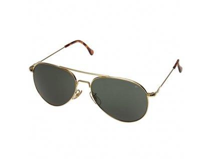 Brýle US AMERICAN GENERAL originál 58mm ZLATÉ