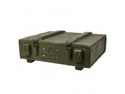 Bedna dřevěná od munice 3P-1 5-86 SOKOL 39/86 použitá