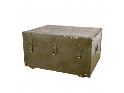 Bedna dřevěná 70,5 x 56,5 x 39 cm použitá