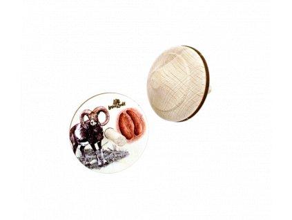Dřevěná káča muflon