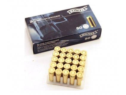 Náboj 9 mm P.A.K. Blank Walther