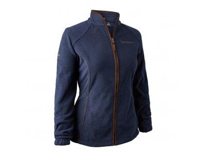Dámská fleecová bunda Deerhunter Lady Josephine modrá
