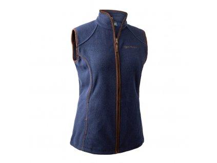 Dámská fleecová vesta Deerhunter Lady Josephine modrá