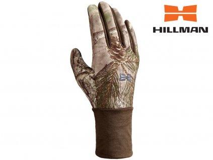 Windproof gloves lovecké rukavice b. 3DX Kamufláž