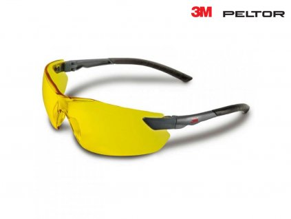 Střelecké brýle 3M žluté