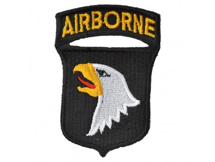 Nášivka 101st AIRBORNE DIVISION - BAREVNÁ