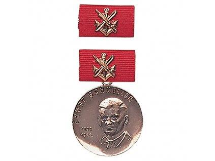 Medaile vyznamenání GST 'E.SCHNELLER' BRONZOVÁ