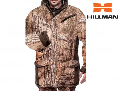 Bolt Coat lovecká zimní bunda b. 3DX Kamufláž
