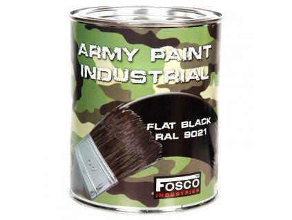Barva ARMY nátěrová 1l RAL 9021 ČERNÁ
