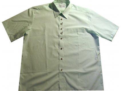 Myslivecká košile Luko sv. zelená