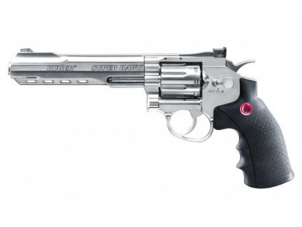 "Airsoft Revolver Ruger SuperHawk 6"" nikl AGCO2"