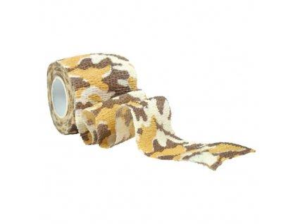 Páska ADHESIVE omotávací maskovací CAMO 3-COL DESERT
