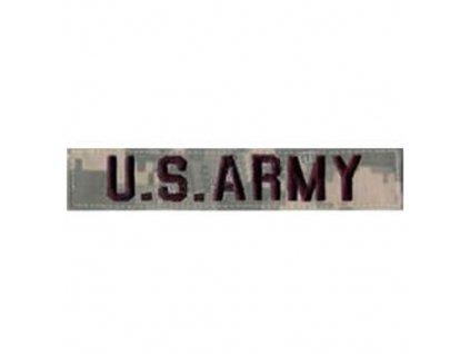 """ášivka """"U.S ARMY"""" VELCRO ACU DIGITAL"""